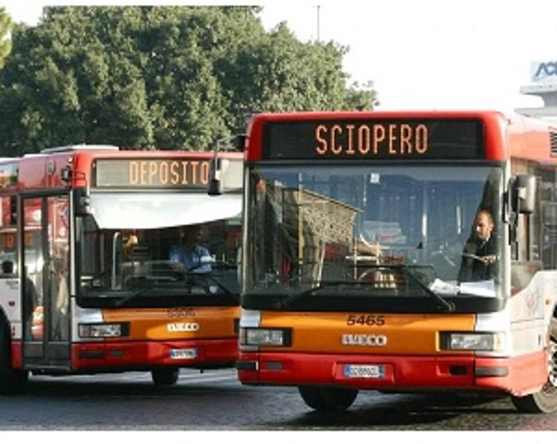 Lunedì 11Luglio: sciopero di 24 ore del trasporto pubblico